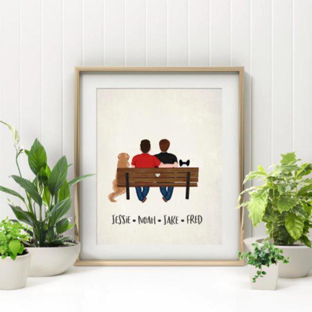 couple print