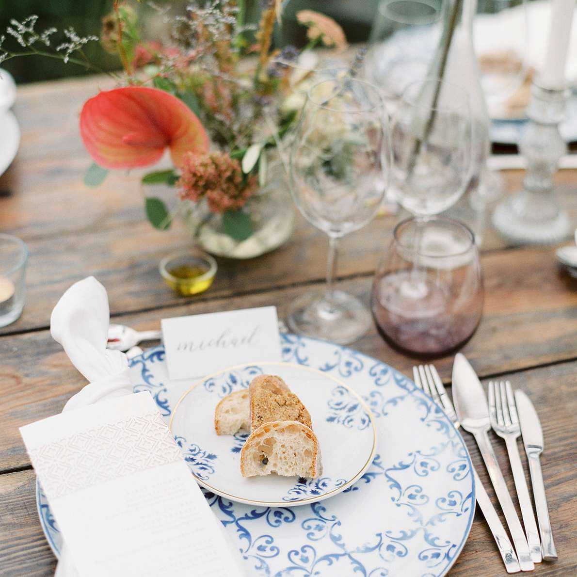 table settign