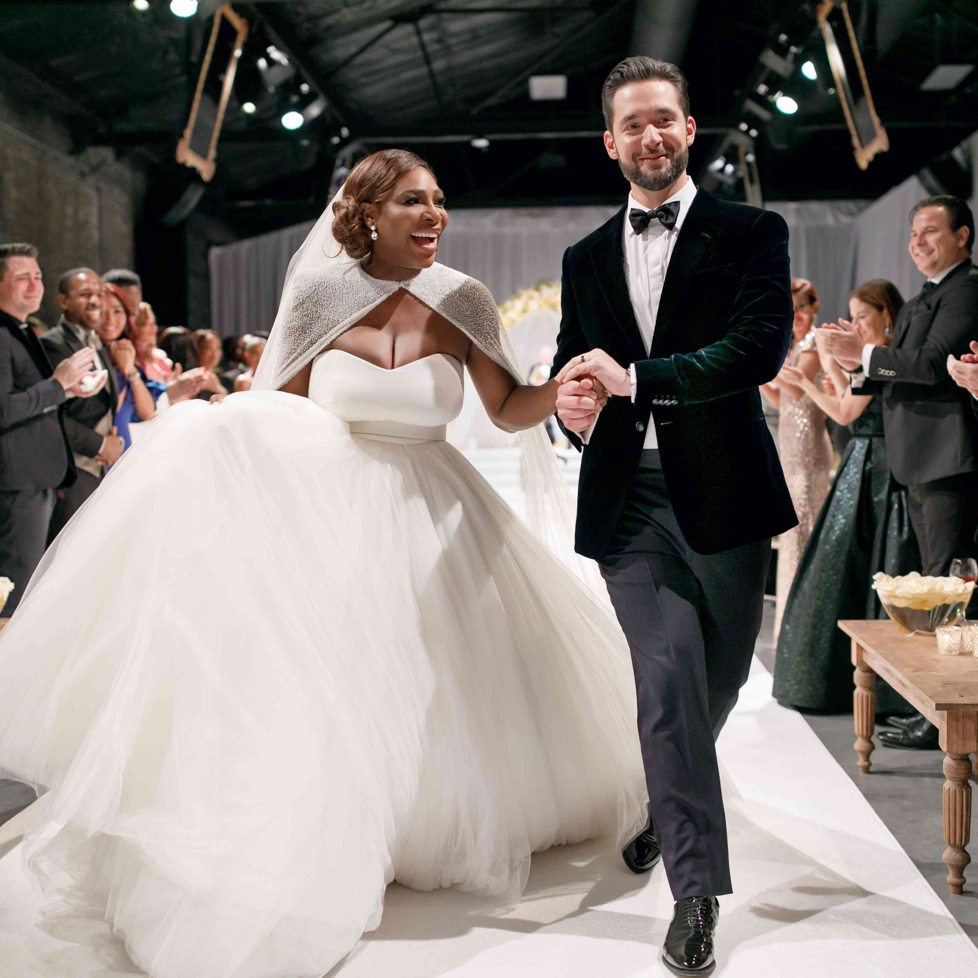 Alexis Ohanian Celebrates First Wedding Anniversary With Serena
