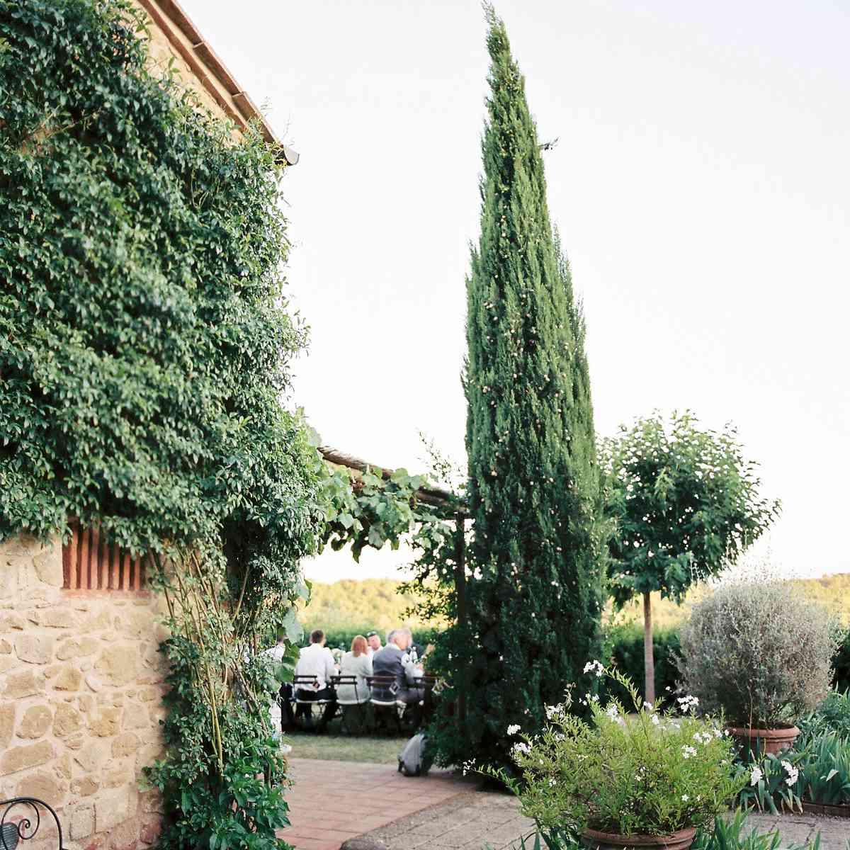 Reception venue in Tuscany