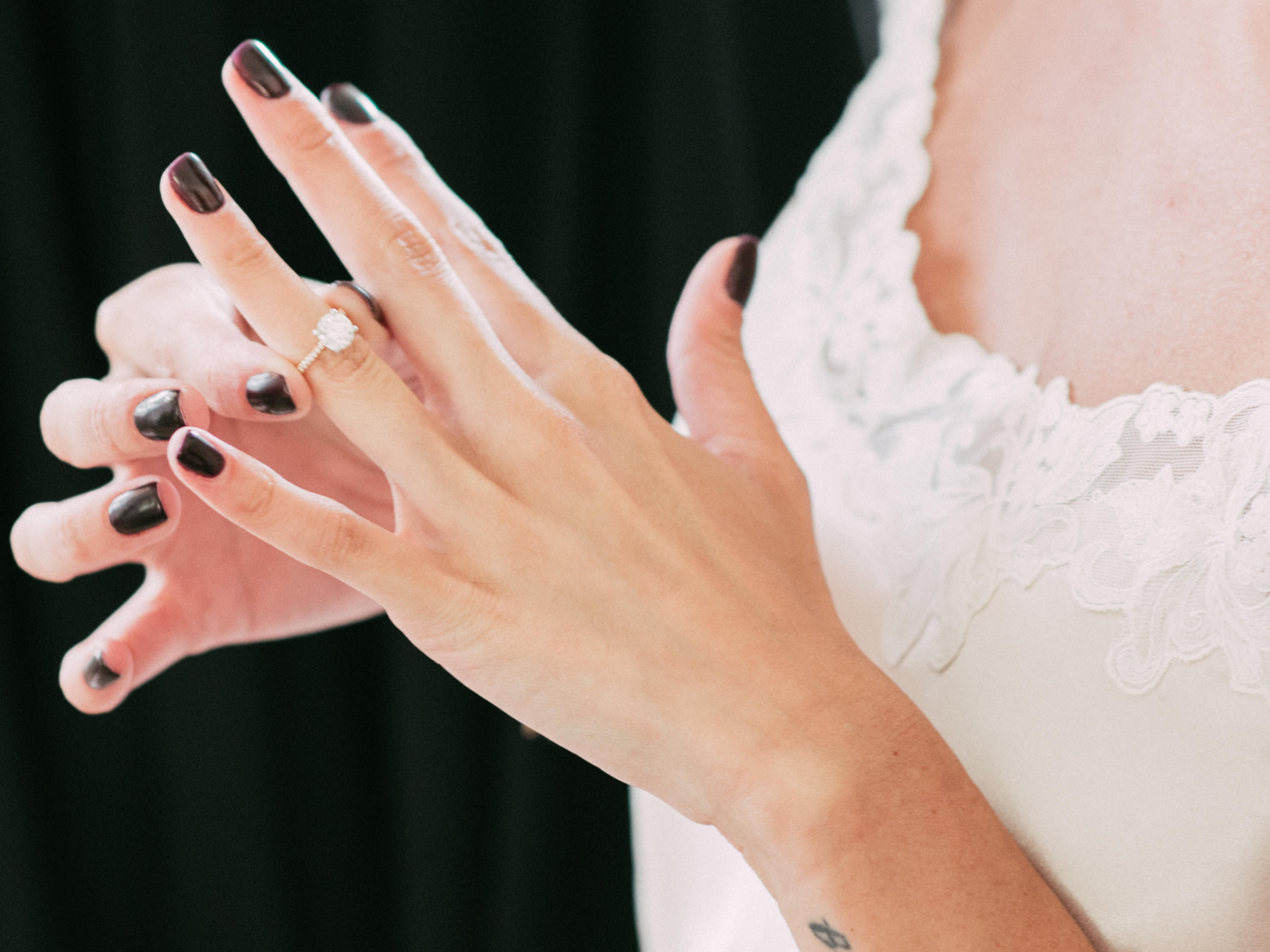 Wedding Ring Worn On The Left Hand