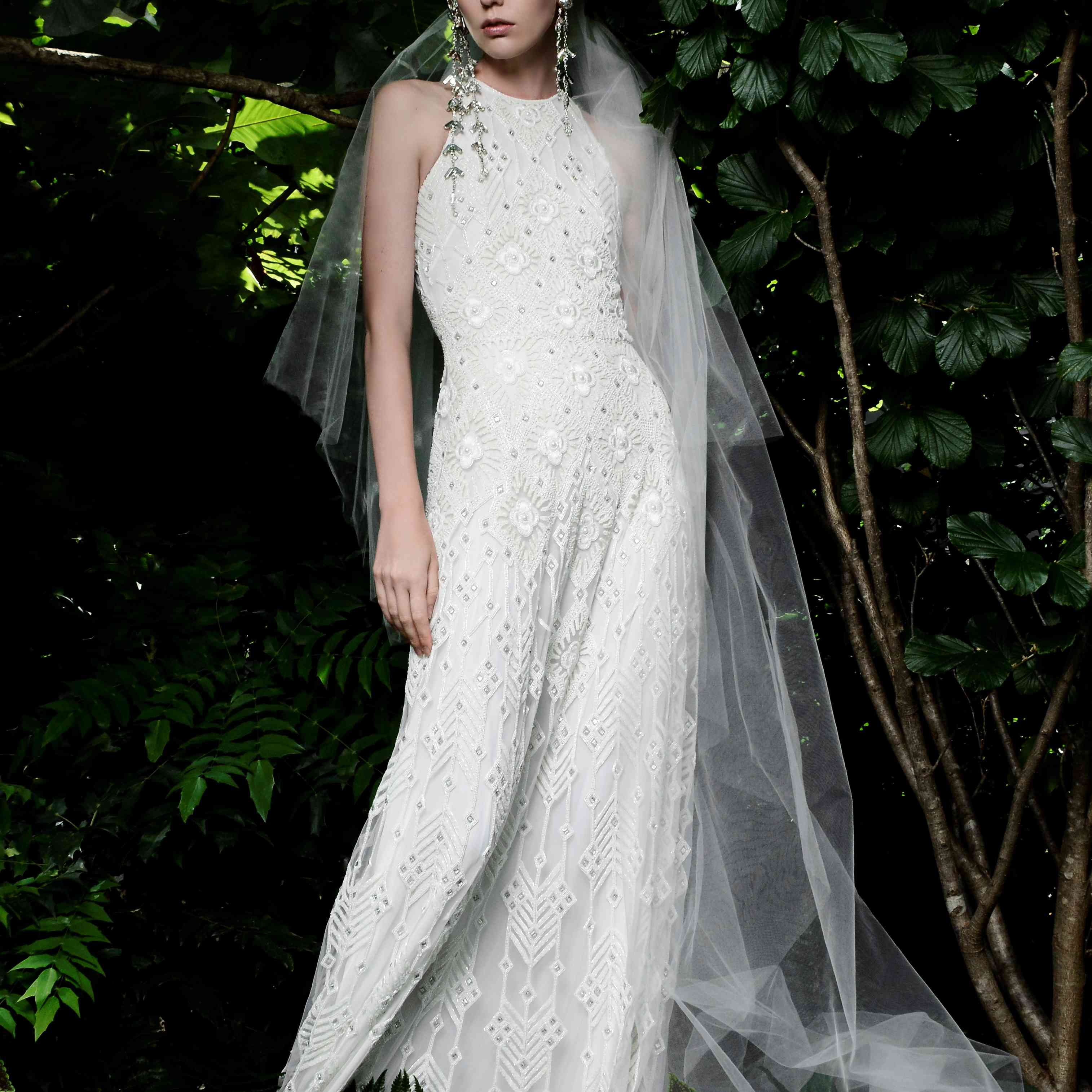 hanalei naeem khan wedding dress