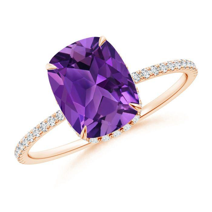 Angara Thin Shank Ring