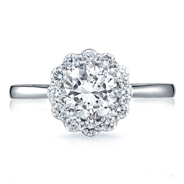Tacori Full Bloom Engagement Ring