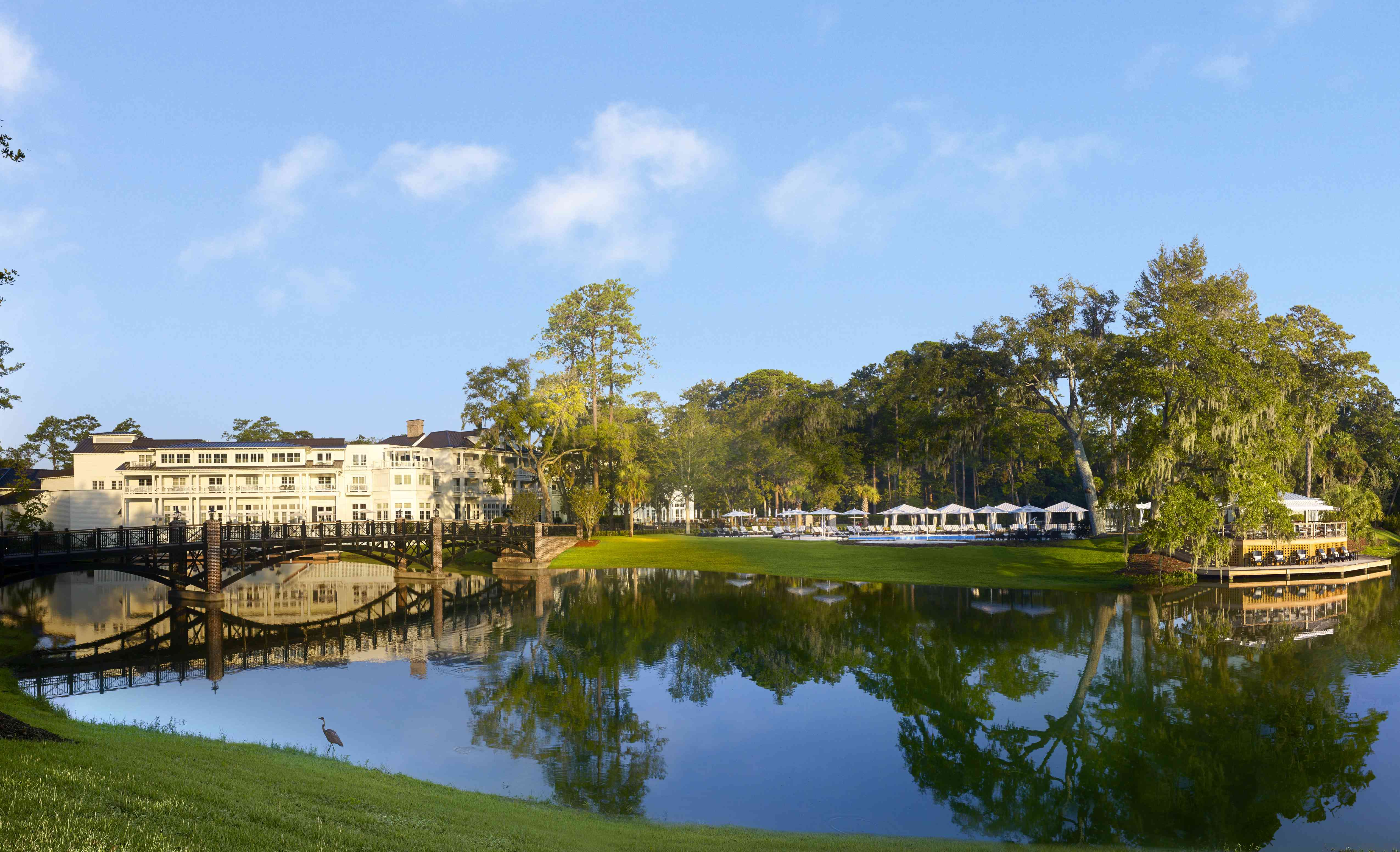 <p>A view of the Montage Palmetto Bluff in Bluffton, South Carolina.</p>