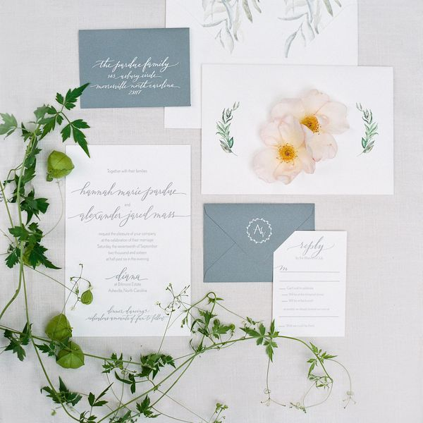 How To Assemble Your Wedding Invitations Properly