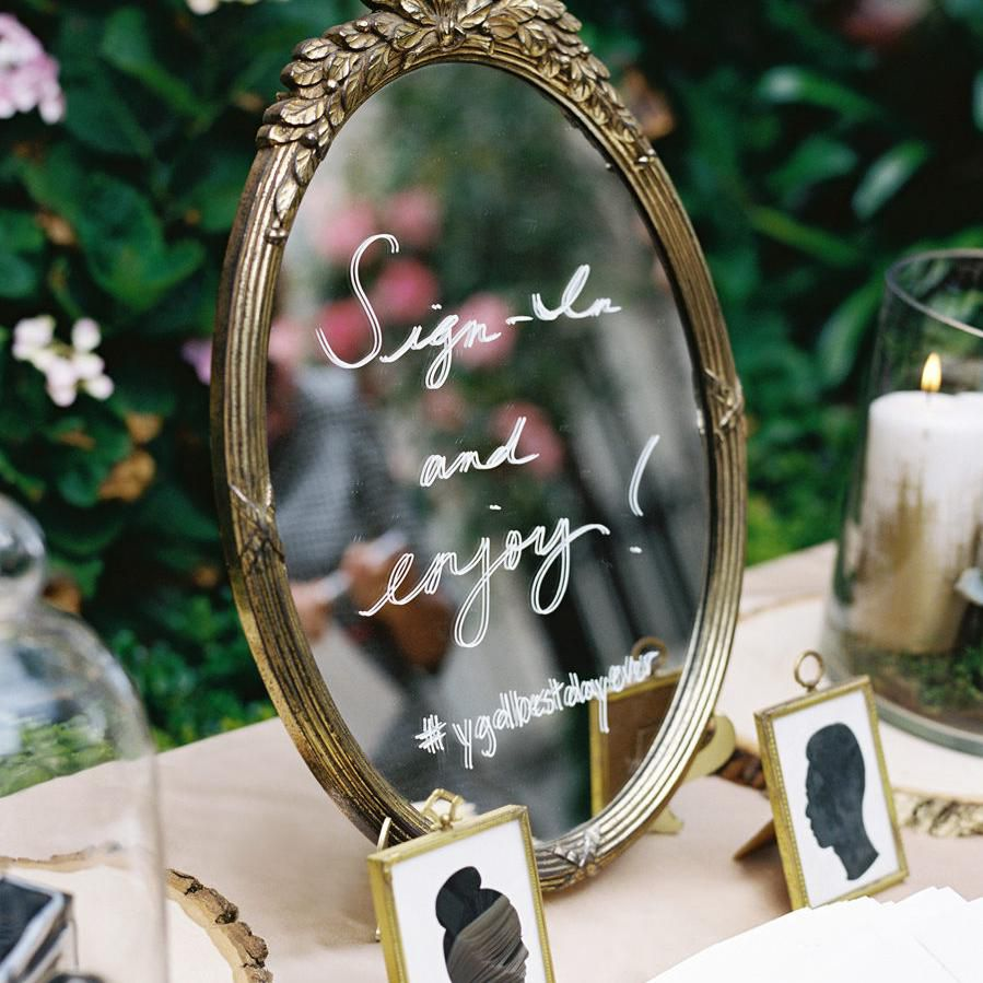 Wedding Mirror Signs Aren't Going Anywhere: Here Are 11 We Love