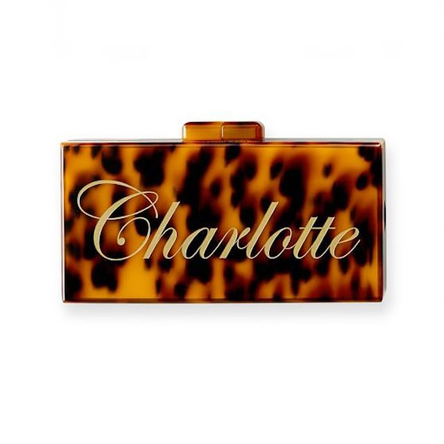 Personalized Hard Shell Clutch