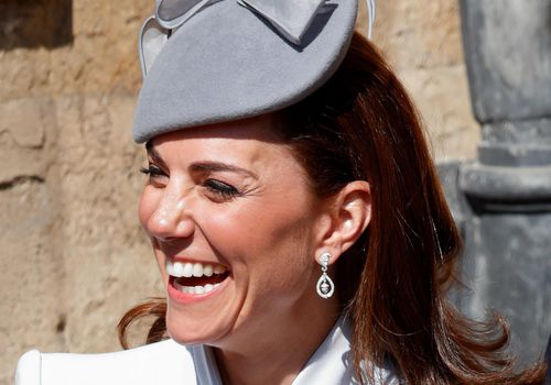 Kate Middleton attends Easter services.