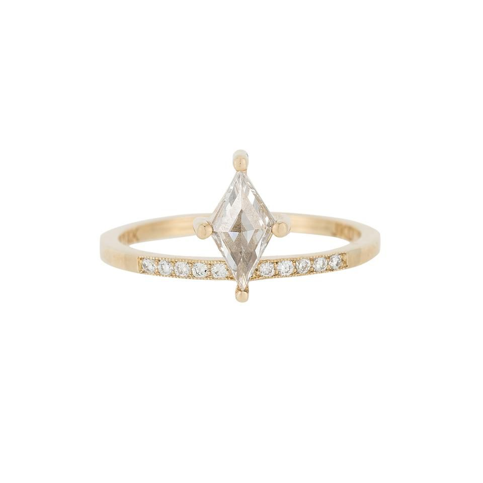 Small engagement ring