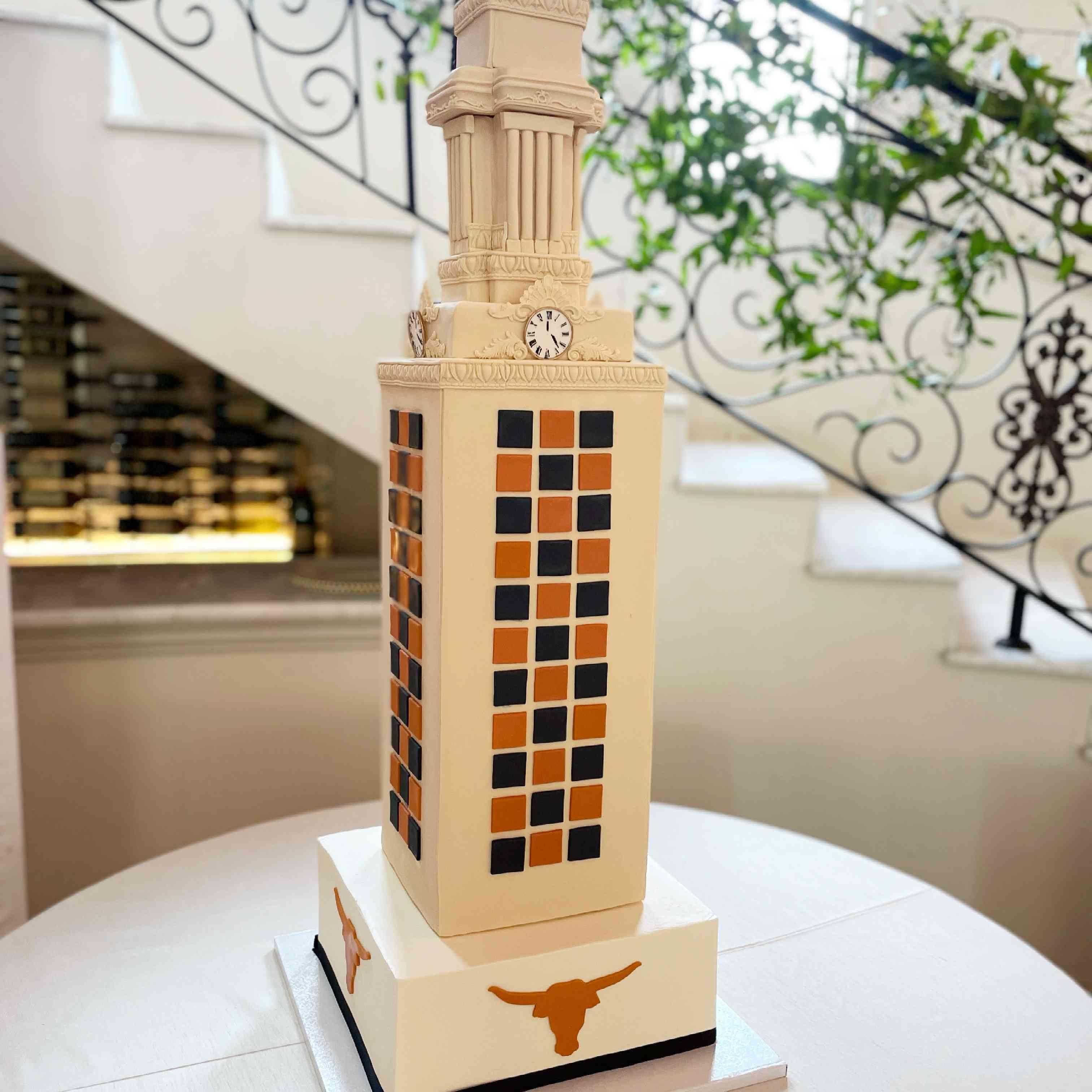 texas longhorns cake