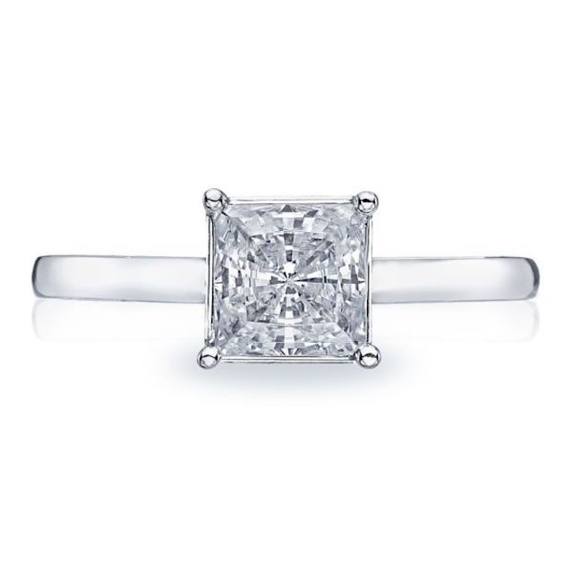 Tacori Sculpted Crescent Engagement Ring