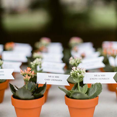 Flowerpot Place Cards