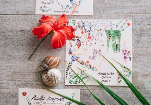 <p>Wedding invitations</p>