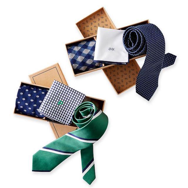 Tie Bar X Mark and Graham Gift Set