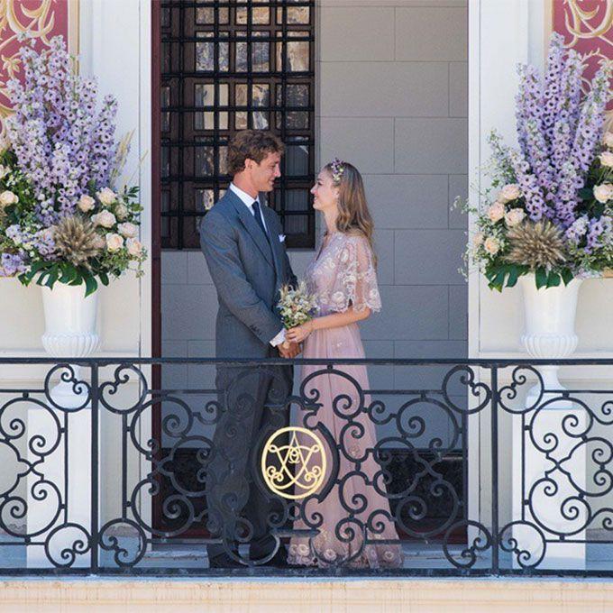 Beatrice Borromeo marries Monaco Royalty Pierre Casiraghi in Valentino, 2015