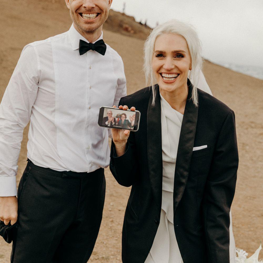 Virtual wedding guests