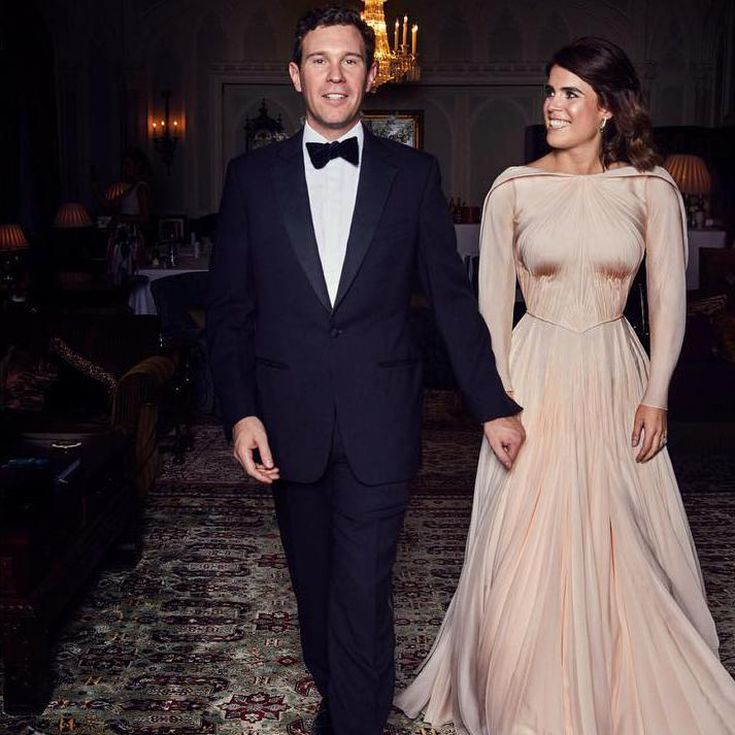 Princess Eugenie Says Grace Kelly Inspired Her Elegant Wedding Reception Gown