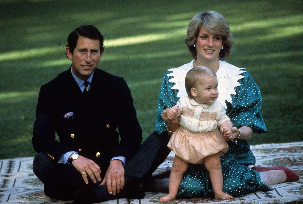 prince charles, princess diana and prince william