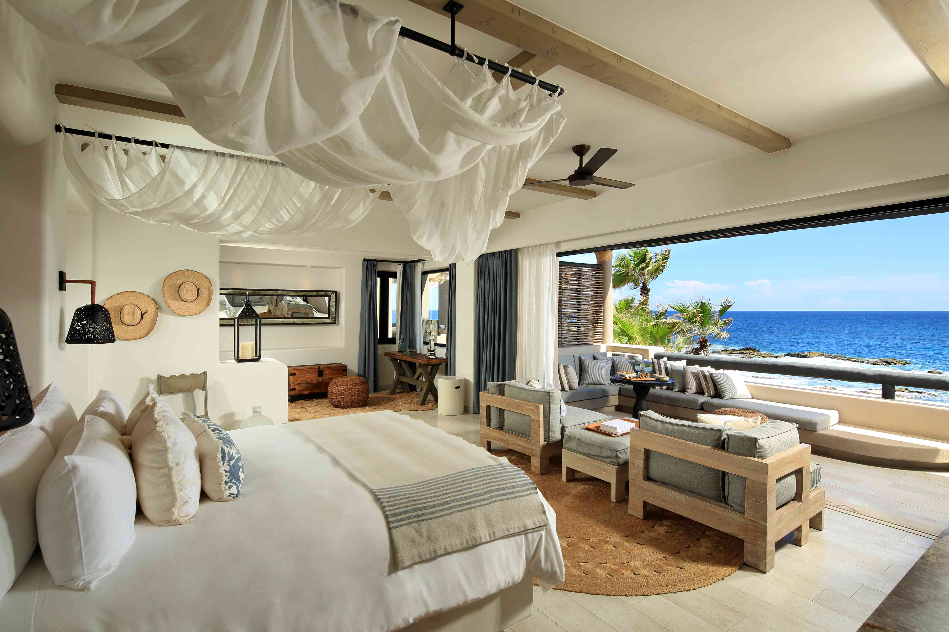 A suite at Esperanza, Auberge Resorts Collection