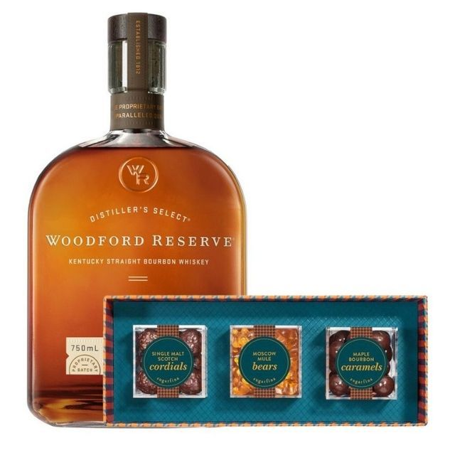 Woodford Reserve Bourbon With Sugarfina Vice Collection