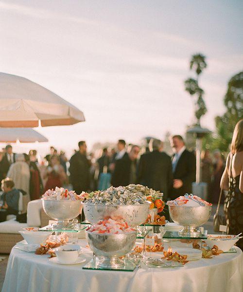 "Beach Wedding Food Ideas: Cute ""His Hers"" Signature Cocktail Menu Ideas"