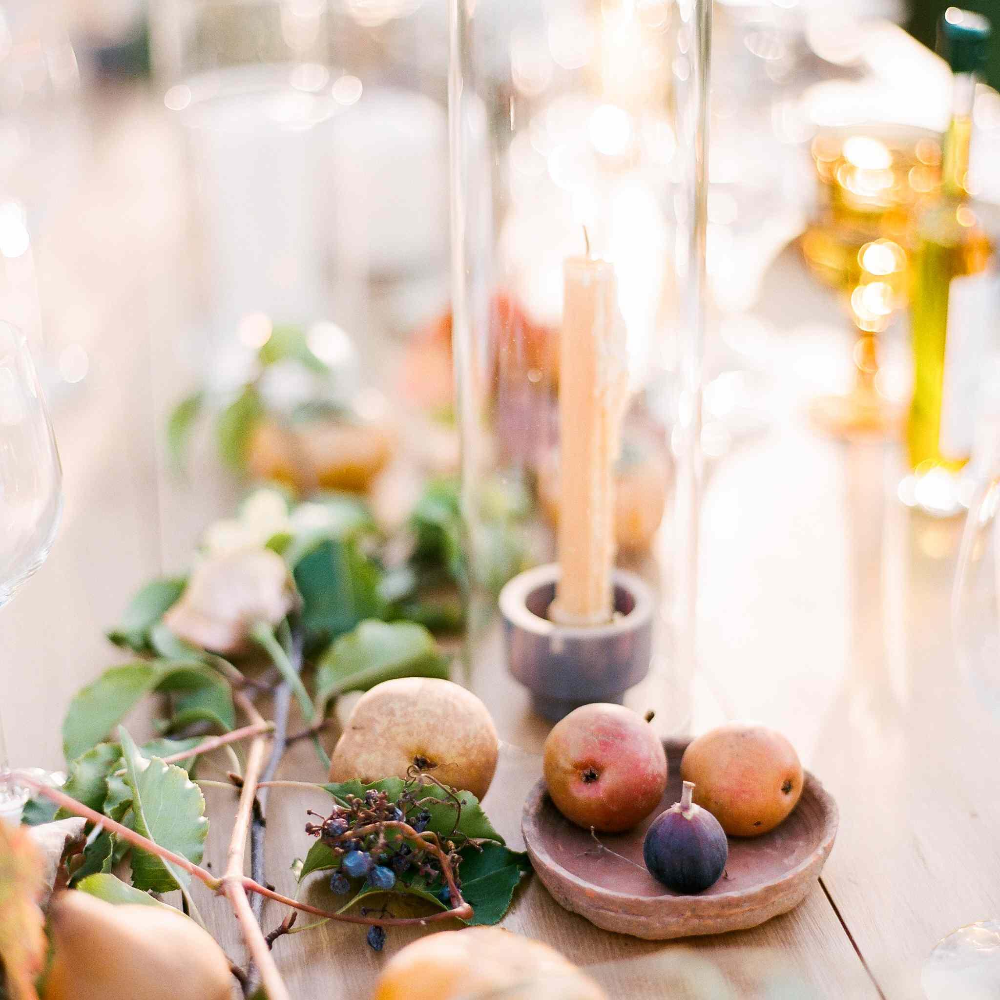 Fruit table décor