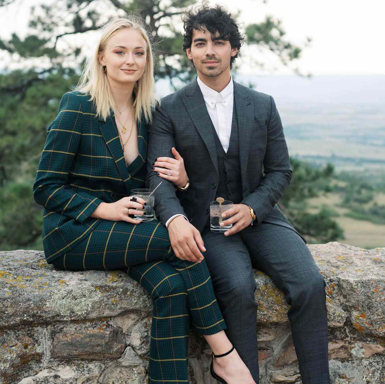 Sophie Turner Wedding.See Sophie Turner And Joe Jonas S Elegant Wedding Invitations