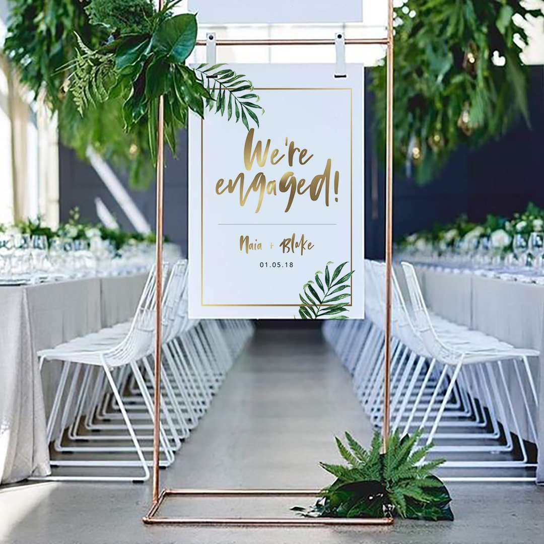 17 Engagement Party Decorations To Celebrate The Newly Betrothed Couple In Style