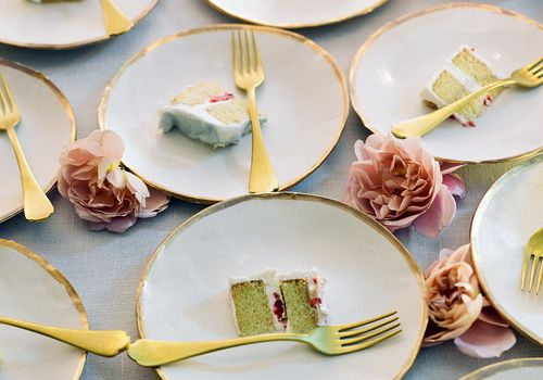 Plates of Cake