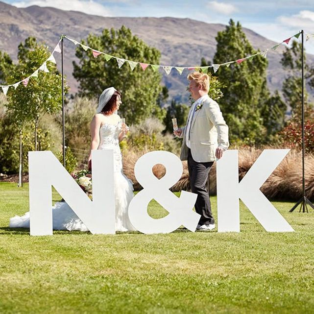 Etsy Large Wooden Letters