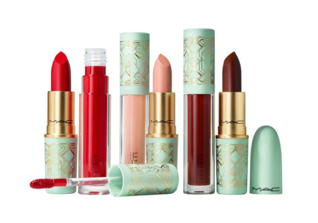 MAC Lipstick & Lipglass Set