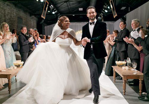 <p>Serena Williams and Alexis Ohanian's Wedding Ceremony</p>