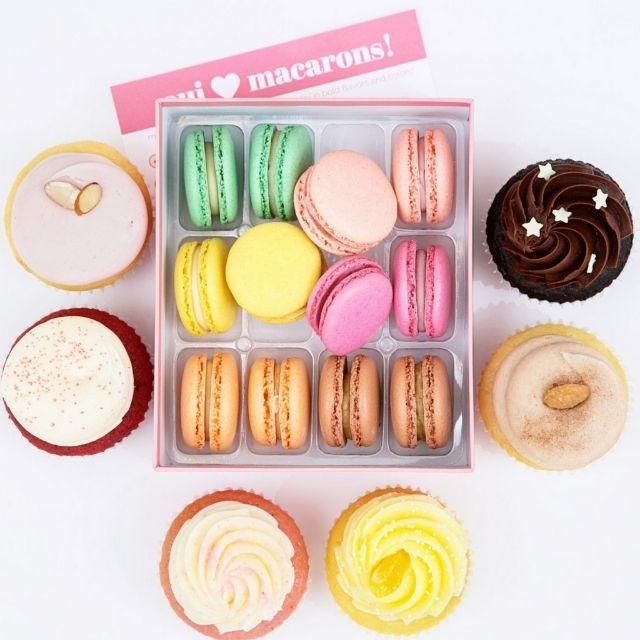Sift Dessert Bar Assorted Macaron Box