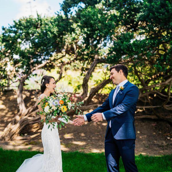 Golf Course Wedding Ideas: An Intimate Destination Wedding In Big Sur, California