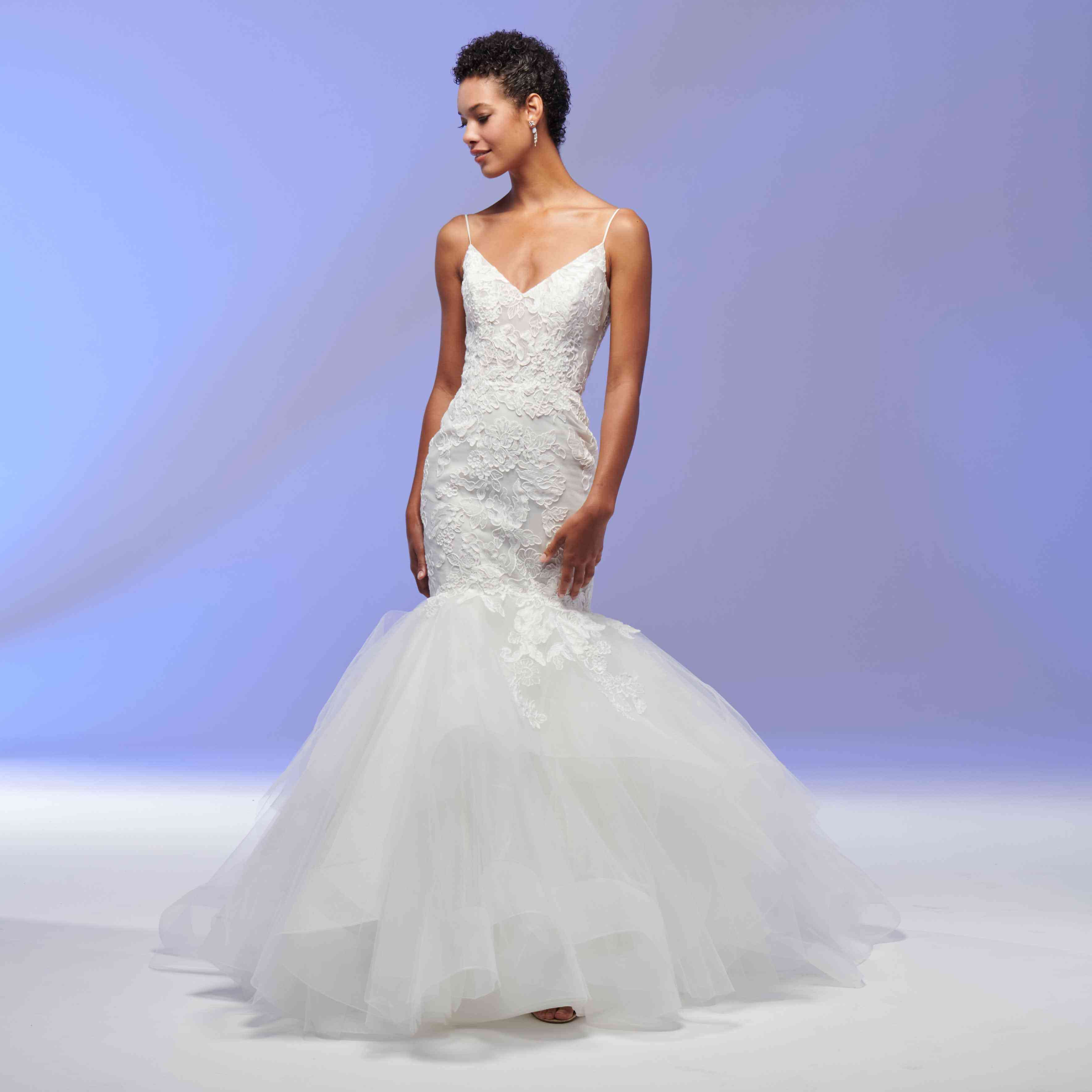 Juno fit-and-flare wedding dress