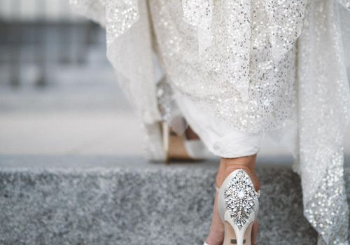 Badgly Mischka Bridal Shoes