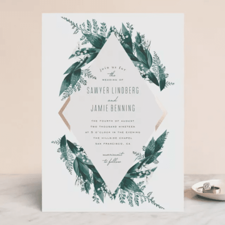 The 12 Best Websites For Wedding Invitations Of 2020