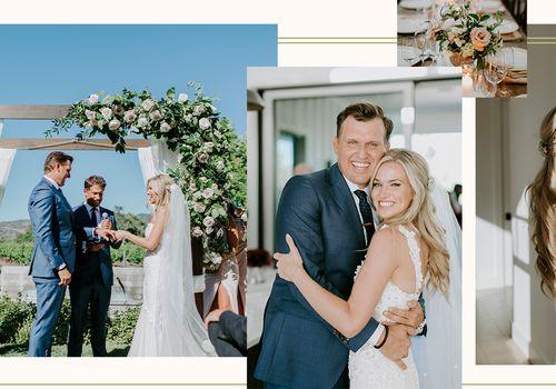 Sarah Merrill and Brandon Hall wedding