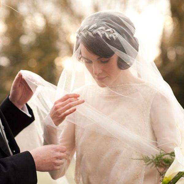 downton abbey wedding lady mary