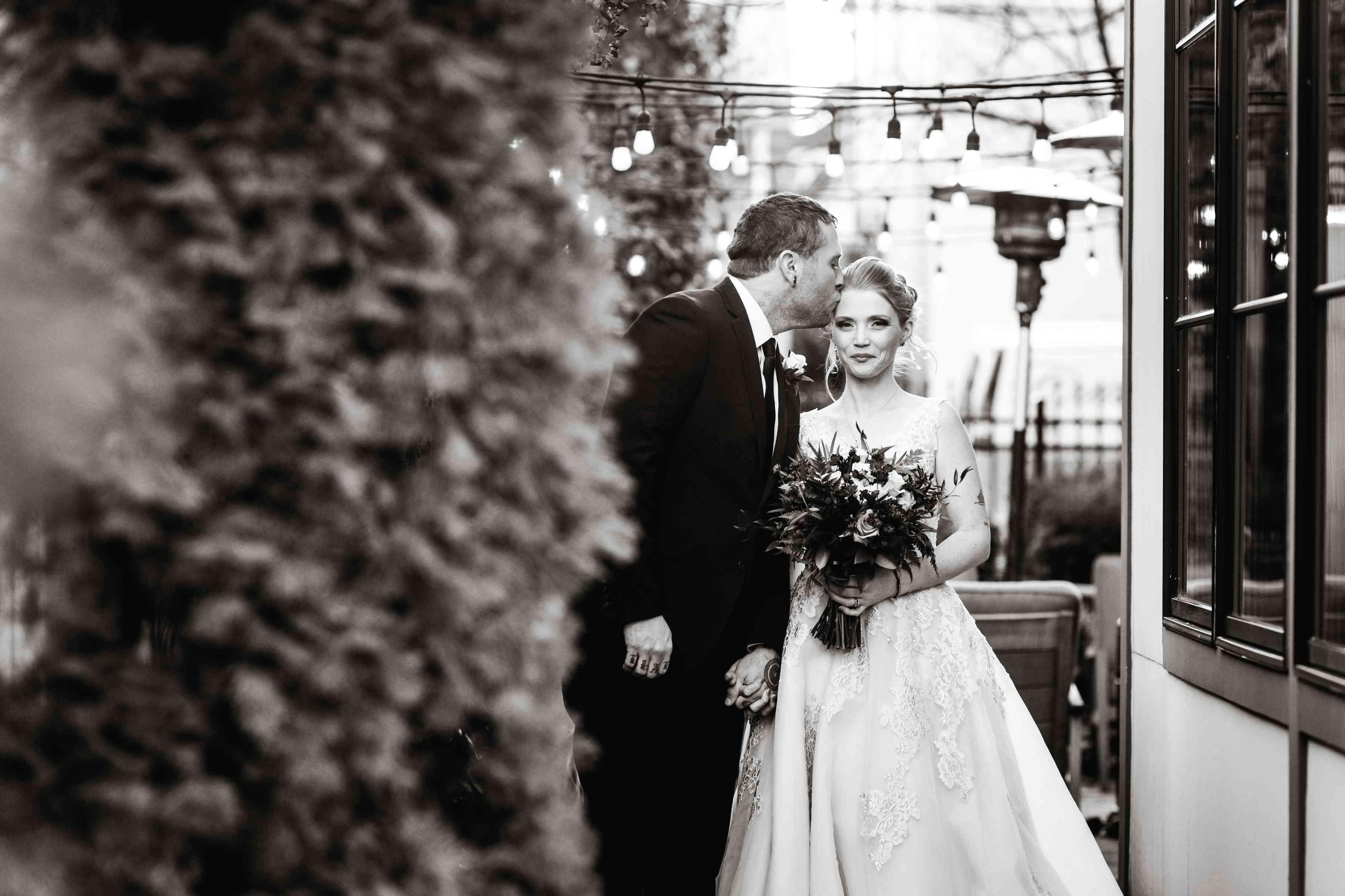 wish upon a wedding bride and groom